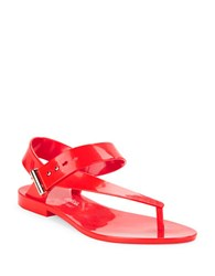 Mel Charlotte Thong Sandals Red