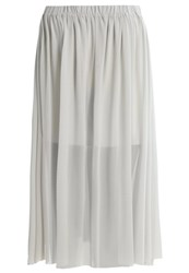 Moss Copenhagen Lina Aline Skirt Pigeon Light Grey