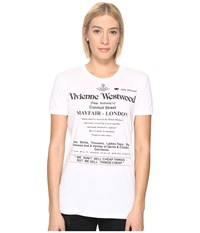 Vivienne Westwood We Don't Sell Cheap Things Top Optical White