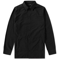Helmut Lang Canvas Shirt Jacket Black