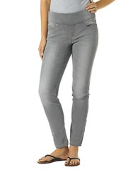 Jag Nora Pull On Skinny Jeans Grey