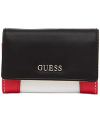 Guess Delaney Mighty Mini Wallet Red Multi