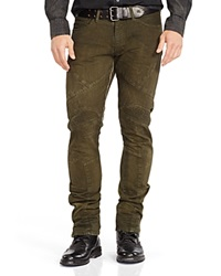 Polo Ralph Lauren Freelander Olive Wash Motocross Slim Fit Jeans