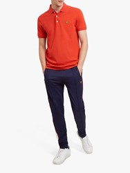Lyle And Scott Polo Shirt Grenadine Red