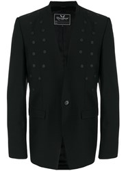 Unconditional Cut Away Studded Jacket Black