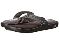 Nike Comfort Thong Black Metallic Silver Dark Grey Men's Sandals Gray