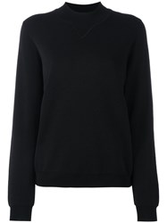 Just Female Plain Sweatshirt Women Cotton Polyamide Polyester Viscose Xs Black