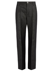 Marc Jacobs Bowie High Rise Flared Jeans Black