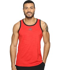 Adidas Heathered Tank Scarlet Black Men's Sleeveless