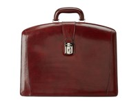 Bosca Old Leather Collection Partners Brief Dark Brown Leather Briefcase Bags
