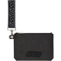 Mcq By Alexander Mcqueen Black Hyper Passport Pouch
