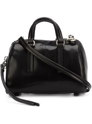 Rick Owens Small 'Bauletto' Crossbody Bag Black