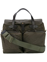 Filson Patch Pocket Laptop Bag Green