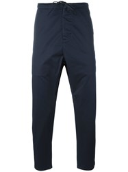 Vince Cropped Trousers Blue