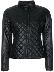 Save The Duck Capp Quilted Jacket Polyurethane Viscose Nylon Polyester Black