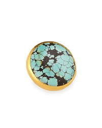 Gurhan Large Chinese Turquoise Ring