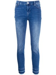 Twin Set Fringed Ankle Skinny Jeans 60