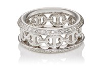 Hoorsenbuhs Women's Chassis Iii Ring No Color