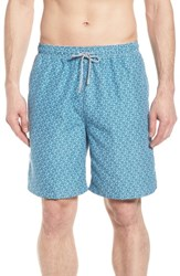 Peter Millar Night Swimming Swim Trunks Watercress