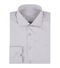 Stefano Ricci Cotton Formal Shirt Male Grey
