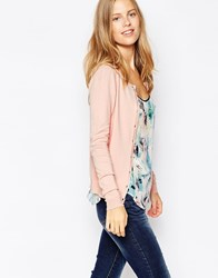 Warehouse Crew Cardi Lightpink