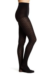 Natori Geo Diamond Tights Black