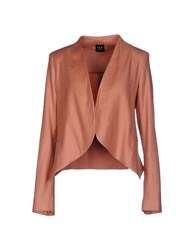 Ter De Caractere Suits And Jackets Blazers Women Pastel Pink