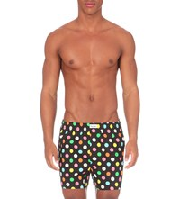 Happy Socks Big Dot Boxers Black Multi