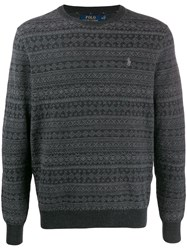 Ralph Lauren Round Neck Jumper Grey