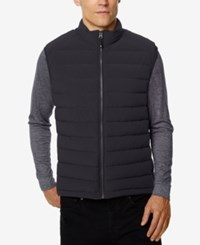 32 Degrees Men's Packable Down Vest Coal