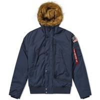 Alpha Industries Ma 1 Polar Jacket Sv Blue