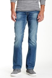 True Religion Basic Straight Leg Jean Blue