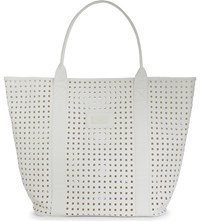 Seafolly Carried Away Faux Leather Tote White