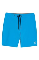Hurley Phantom One And Only Board Shorts Photo Blue