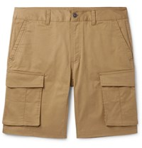 The North Face Anticline Cotton Blend Twill Cargo Shorts Brown