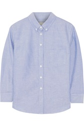 Band Of Outsiders Cotton Shirt Blue
