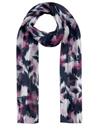 Eastex Floral Haze Scarf Multi Coloured