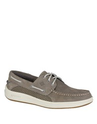 Sperry Topsider Gamefish 3 Eye Boat Shoes Grey