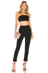 By The Way Remy Bandeau Pant Set Black