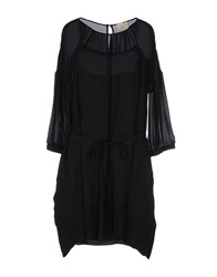 Girl By Band Of Outsiders Short Dresses Black