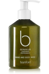 Bamford Geranium Hand And Body Wash Colorless