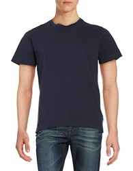 Brooks Brothers Crewneck Tee Blue