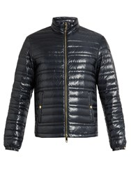 Burberry Quilted Jacket Navy