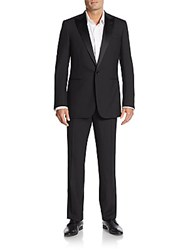 Ralph Lauren Black Label Wool Tuxedo Black