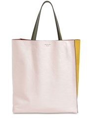 Marni Museo Soft Smooth Leather Tote Candy