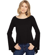 Blank Nyc Belle Sleeve Shirt In Shadow Shadow Women's Clothing Brown