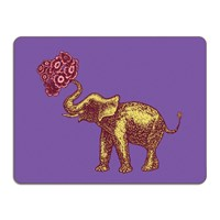 Avenida Home Puddin' Head Animal Table Mat Elephant