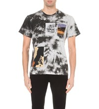 Star Wars Force For Change J.W. Anderson Tie Dye Cotton Jersey T Shirt Black