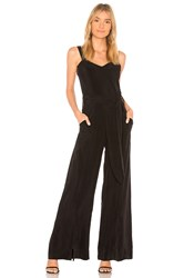 Calvin Rucker Why Don't You And I Jumpsuit Black