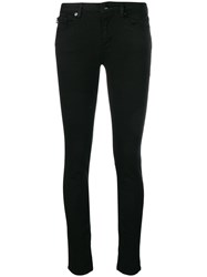 Love Moschino Low Rise Skinny Jeans Black